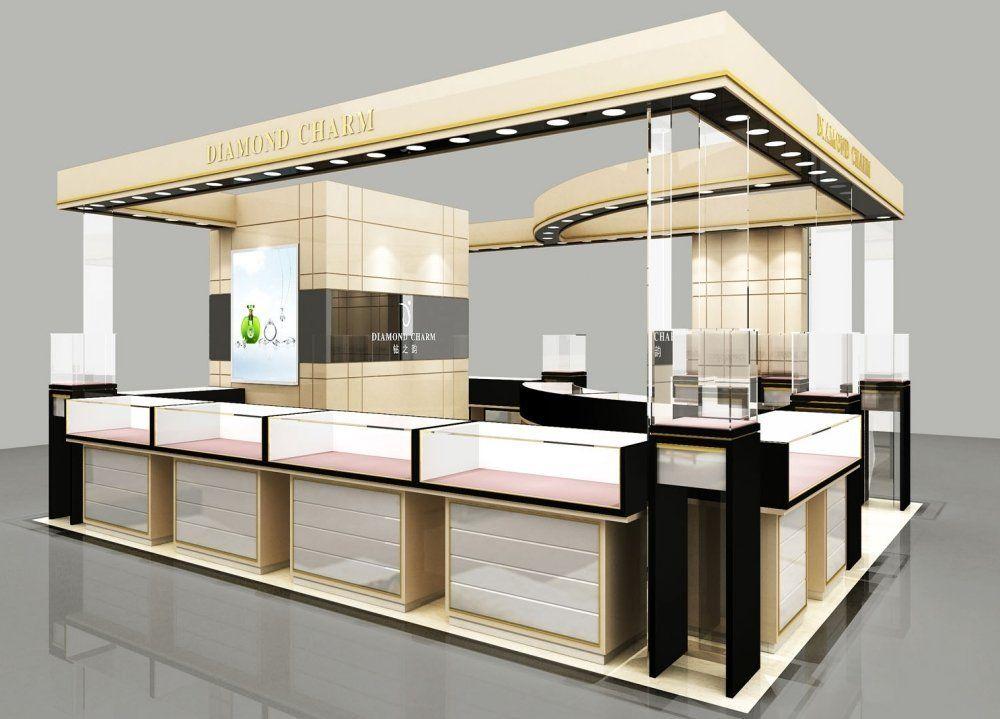 custom retail mall kiosk