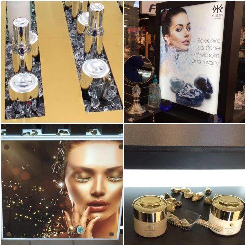 cosmetic mall kiosk handcraft details