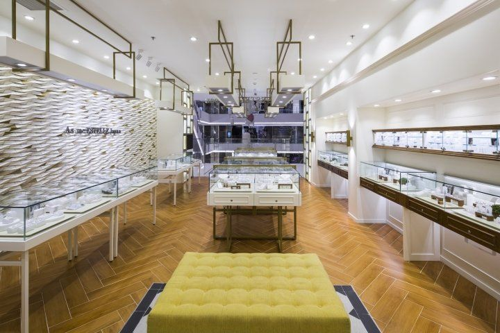 jewelry store showcase manufacture