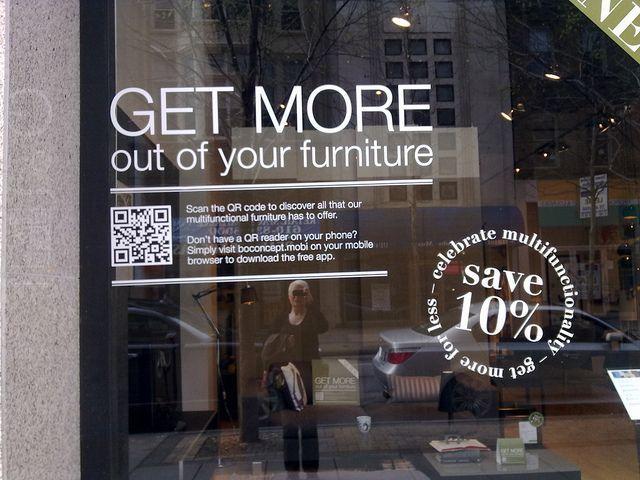 retail store QR code