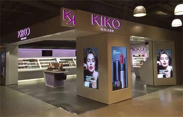 Stylistic design makeup store furniture