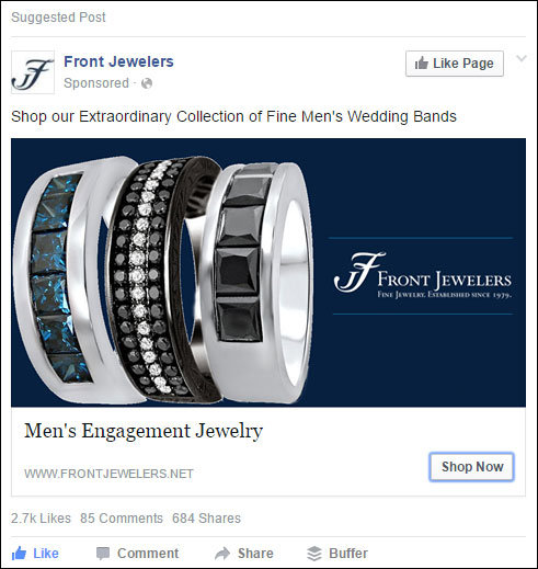 jewelry store ads facebook