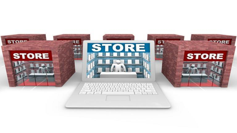 brick and-mortar store