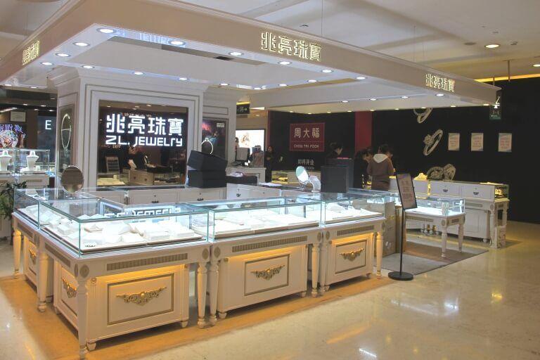 jewelry mall kiosk design_ujoydisplay