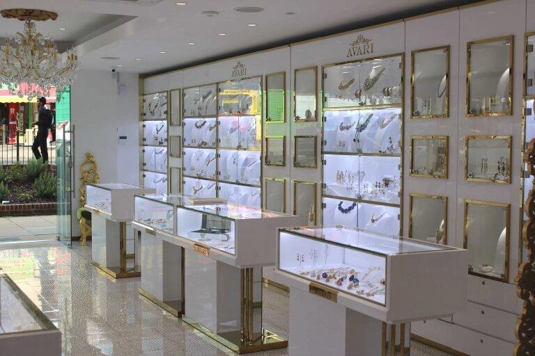 modern jewelry store design_ujoydisplay.com