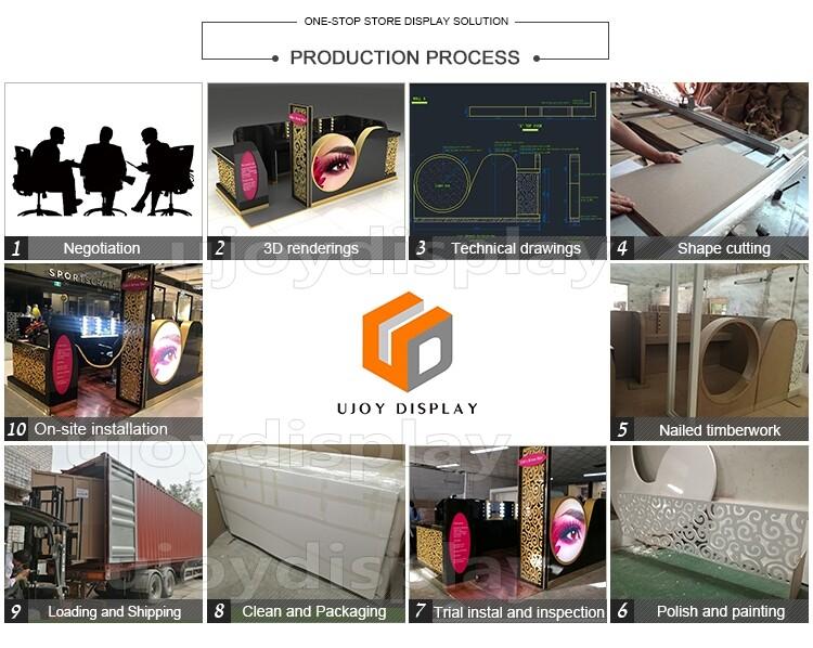 jewelry kiosk production process