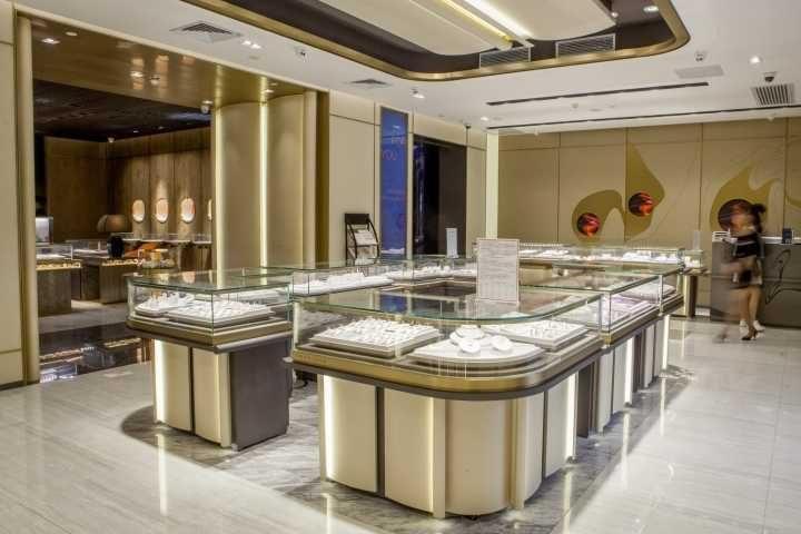 Luxury jewelry store showcase (5)